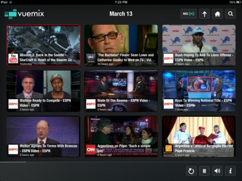 Vuemix shares the latest streaming online videos of the new pope elected, starcraft, the bachelor, nfl offseaseason
