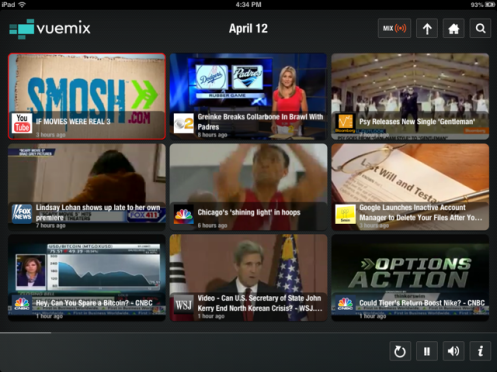Vuemix broadcasts streaming online video of Psy, Chicago's hoops, Dodgers, Padres, John Kerry