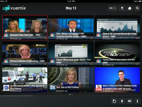 Streaming Video Blog I Obama, stock market I Vuemix